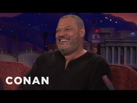 Laurence Fishburne: People Think I'm Morpheus  - CONAN on TBS