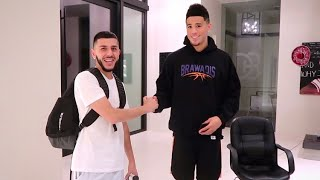 Devin Booker was LOOKING FOR ME?!