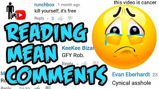 Reading Mean Comments - Man Vs Youtube