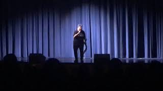 Mary Halsey performs for West Warwick High School