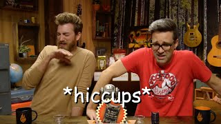 mii channel theme but it's rhett and link hiccupping