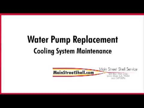 Water Pump Replacement in Santa Maria- Cooling System Maintenance.