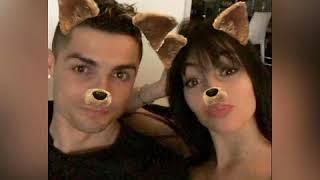 Cristiano ronaldo y Georgina rodríguez instagram buenas noches fans