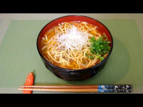Try my recommend Miso Ramen recipe / 素っ気ないけどマジ美味な味噌ラーメン