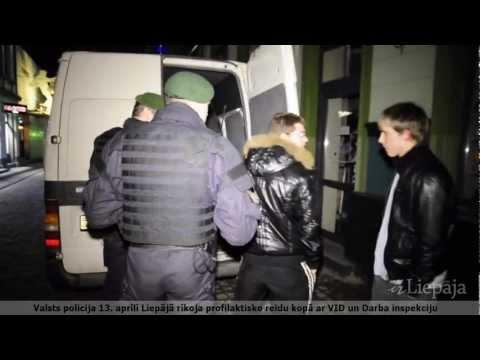 Valsts policija sarīko plašu reidu pa Liepājas nakts klubiem