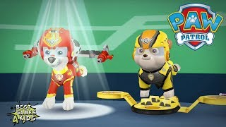 PAW Patrol Pups Take Flight HD | MARSHALL in VOLCANO ISLAND By Nickelodeon