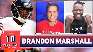 Brandon Marshall on His Relationship With Jay Cutler, 'I AM ATHLETE,' and More | 10 Questions