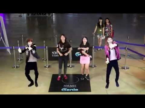 Genie AR SHOW with SHINee S.M.ART EXHIBITION in SEOUL COEX (10~19 AUG. 2012).mp4