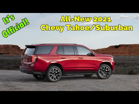 Bigger AND Bolder -- All-new 2021 Chevy Tahoe & Suburban: First Look