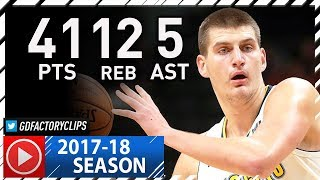 Nikola Jokic Full Highlights vs Nets (2017.11.07) - Career-HIGH 41 Pts, 12 Reb, 5 Ast