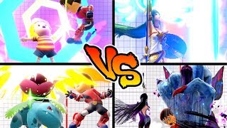Super Smash Bros. Ultimate - Who has the Strongest Up Smash?