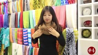 10 cách quàng khăn cho mùa thu | Viettime Craft