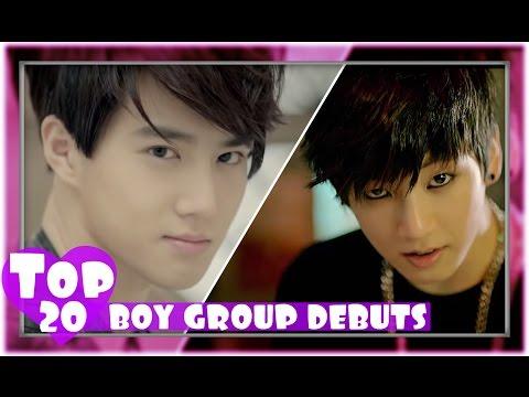 [TOP 20] MOST VIEWED K-POP BOY GROUP DEBUT MUSIC VIDEOS