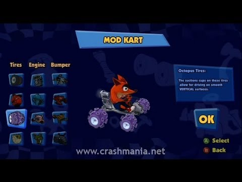 Crash Team Racing (2010) Gameplay