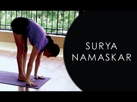 how to do surya namaskar yoga stepstep  youtube
