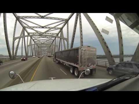 Linguiça de Jacaré - Posto Carreteiro Americano na Louisiana - Vlog18rodas