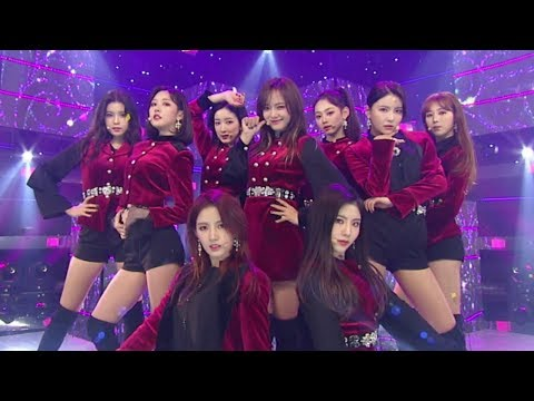 《POWERFUL》 gugudan(구구단) - The Boots(더 부츠) @인기가요 Inkigayo 20180218