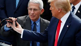 Trump, Dr. Fauci participate in roundtable at American Red Cross HQ