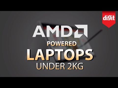 AMD Ryzen Powered Laptops Under 2KG
