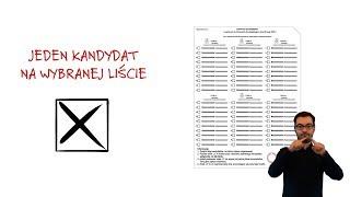 Chcesz wiedzieć jak oddać głos na karcie do głosowania? Obejrzyj spot PKW