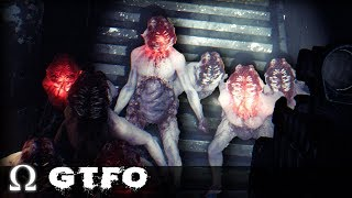 These ALIENS Completely *TERRIFIED* Us!   GTFO Gameplay w/Cartoonz