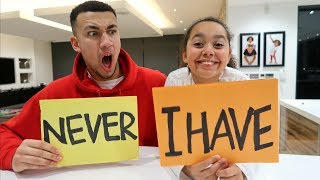 NEVER HAVE I EVER CHALLENGE WITH MY LITTLE SISTER **CONFESSED**