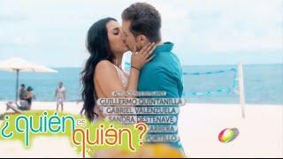 Eugenio Siller ft. Danna Paola - Entrada de la telenovela ¿Quién es Quién?