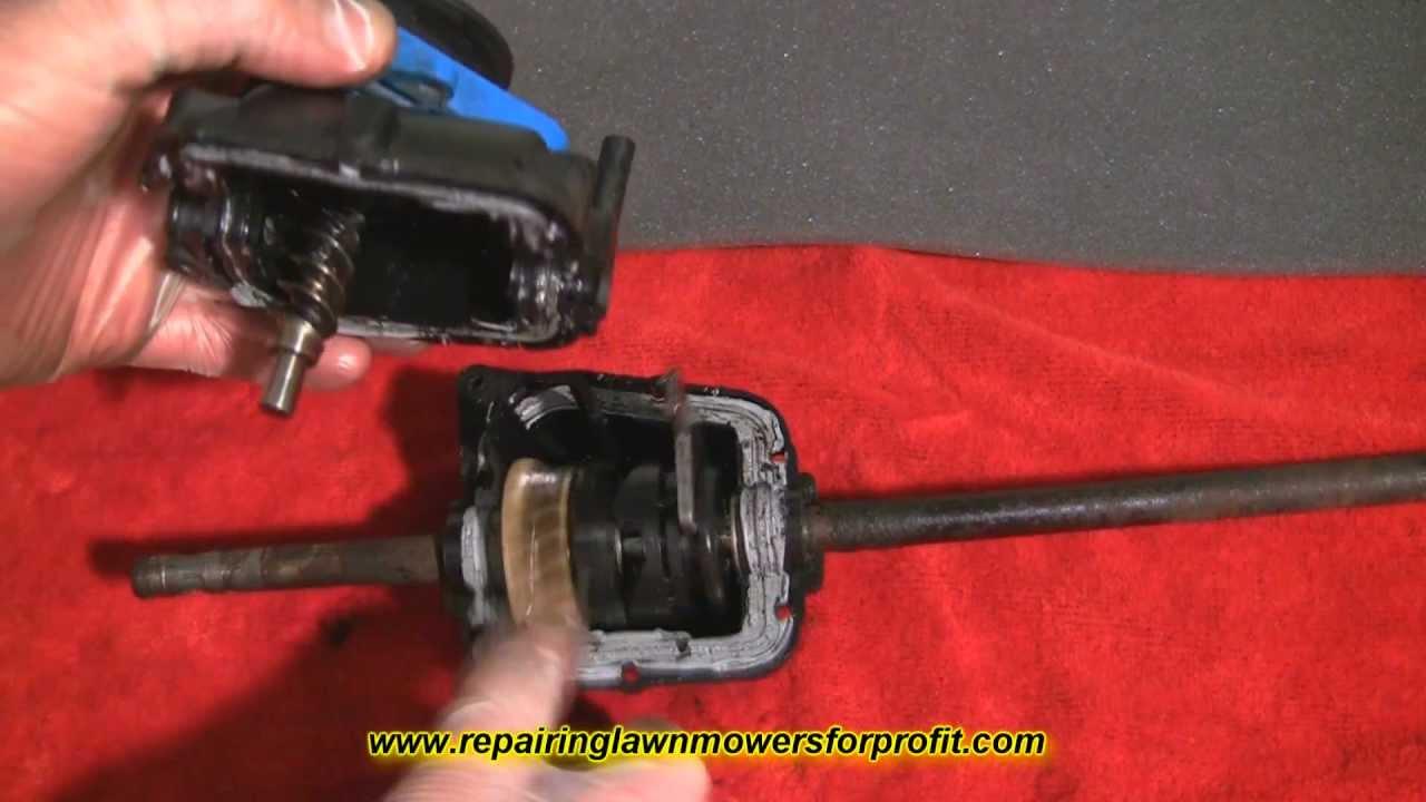 Repairing Lawn Mowers For Profit Part 14 Lawnmower Self
