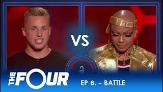 AJ Reynolds vs Sharaya J: This Rap Battle Sets HISTORIC Record On The Four!  | S2E6 | The Four
