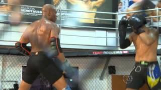 Anderson 'The spider' Silva - KO Sparring partner -  Sparring session