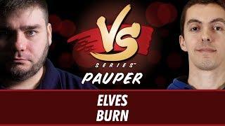 2/16/2018 - Todd Anderson VS. Jim Davis: Elves vs. Burn [Pauper]