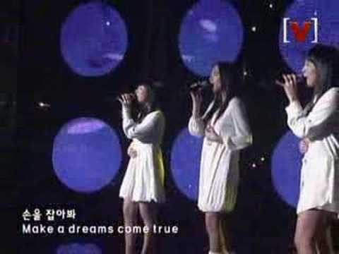 dreams come true-天上智喜 MV