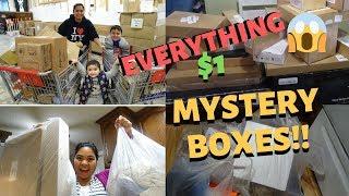 BUHAY AMERIKA: PART 2: LIQUIDATION SHOPPING EVERYTHING $1!!  FIL-AM FAMILY VLOG