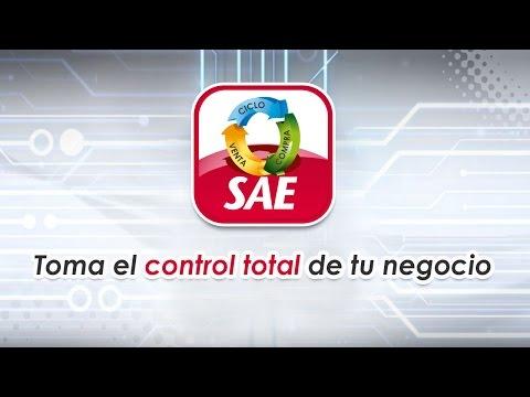 Administra el éxito de tu empresa con SAE, SAE Móvil y SAE en mi propia nube