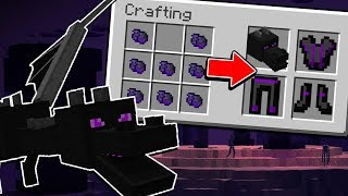 Minecraft: A NOVA ARMADURA DE ENDER DRAGON NO MINECRAFT!