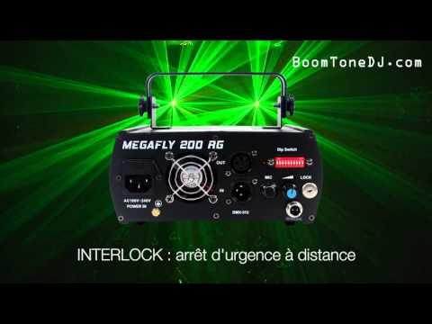 Vidéo BoomToneDJ - Megafly 200 RG