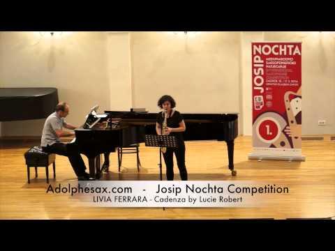 JOSIP NOCHTA COMPETITION LIVIA FERRARA Cadenza by Lucie Robert