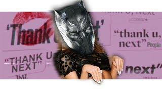 "Black Panther Sings ""thank u, next"" by Ariana Grande! | Avengers Parody"