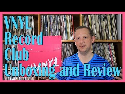VNYL Record Subscription, Unboxing and Review #Starrynights