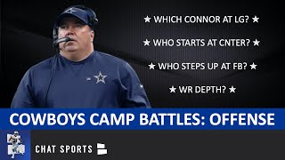 Dallas Cowboys Training Camp Battles To Watch On Offense
