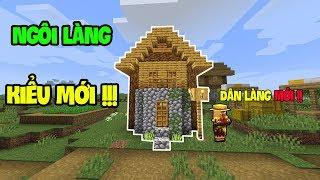 Top 5 Điều Thú Vị Đã Được Thêm Vào Minecraft - Ngôi Làng Kiểu Mới !!!