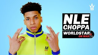 NLE Choppa on who he'd Recruit for a Rap Group | Worldstar On Wax