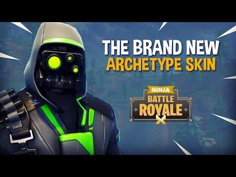 The Brand New Archetype Skin!! - Fortnite Battle Royale Gameplay - Ninja