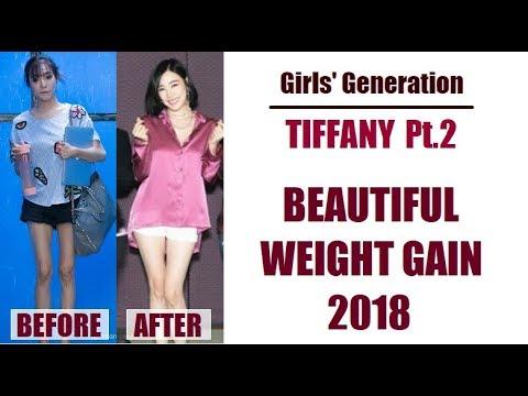 SNSD Tiffany Young - Inspiring Weight Gain 2018 (Girls' Generation)