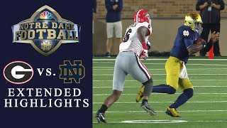 Georgia vs. Notre Dame I EXTENDED HIGHLIGHTS