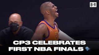 Chris Paul Lets Out Emotions As Phoenix Suns Make 2021 NBA Finals