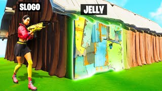 HIDING As A WALL In PROP HUNT! (Fortnite)
