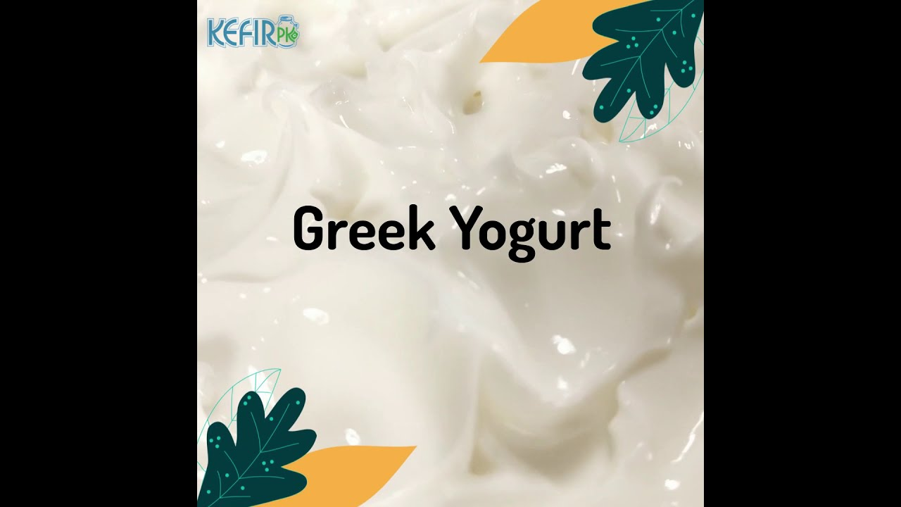 video Greek Yogurt 500g Plain X 4