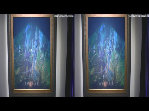 (3D) Magic of Light exhibition by 3D camcorder (Holograms)