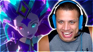 Tyler1 Reacts To League Of Legends Star Guardian Animated Trailer! Yassuo 9 LP.. - Funny LoL Moments